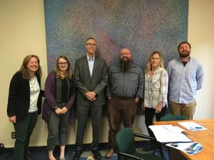FCSP Team Meets with Congressman Huffman