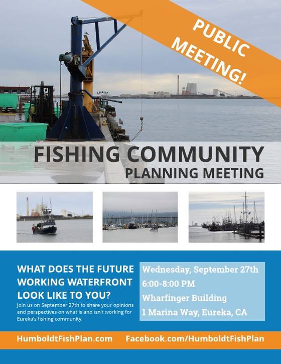 Public Fishing Community Meetings!