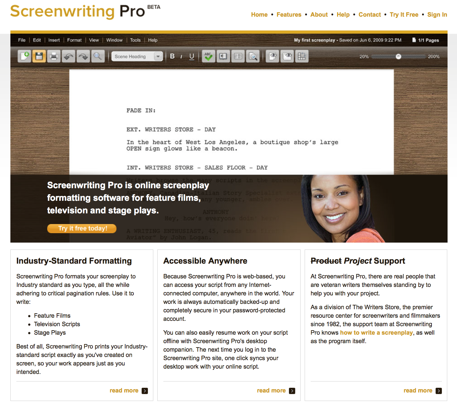 Screenwriting Pro