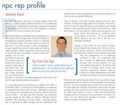 Newsletter Profile