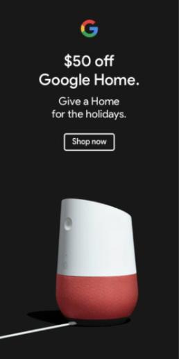 Google Home Banner