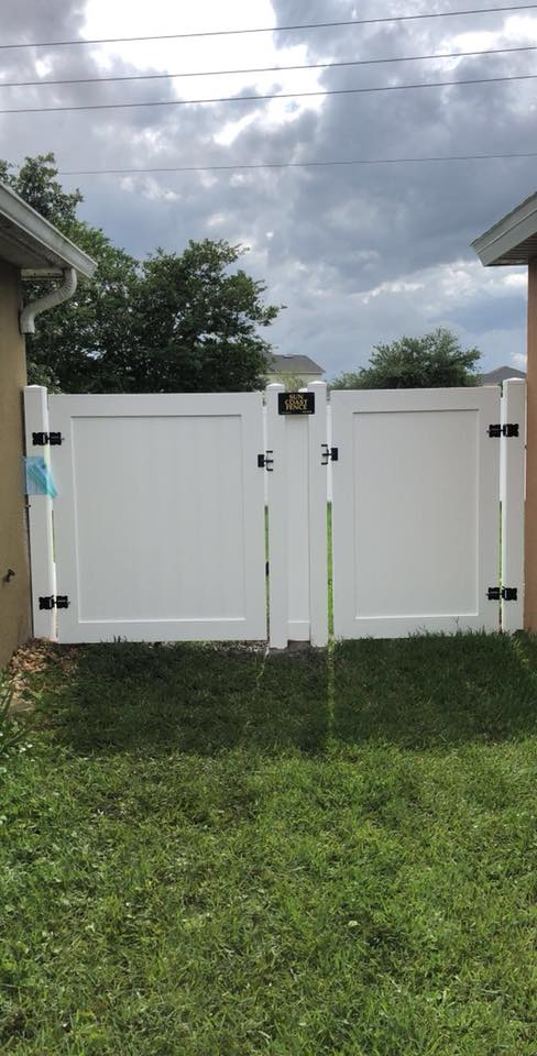 PVC/Vinyl Gates