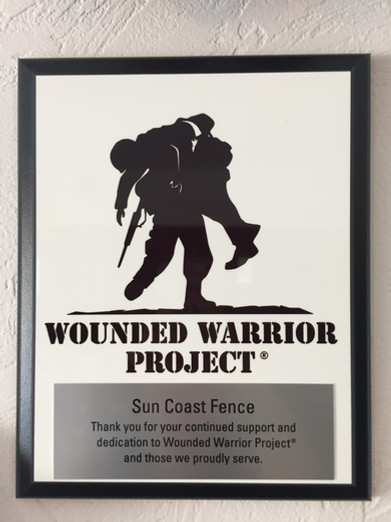 Wounded Warrior Project Award