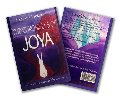 The Chronicles of Joya book cover.