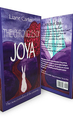The Chronicles of Joya book cover by author Liane Carter