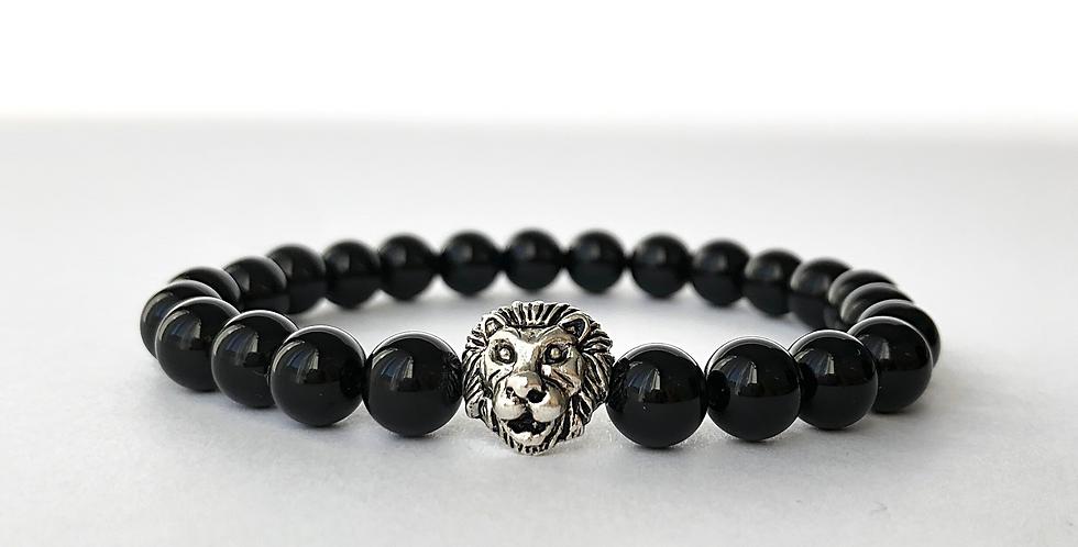BLACK LION karkötő