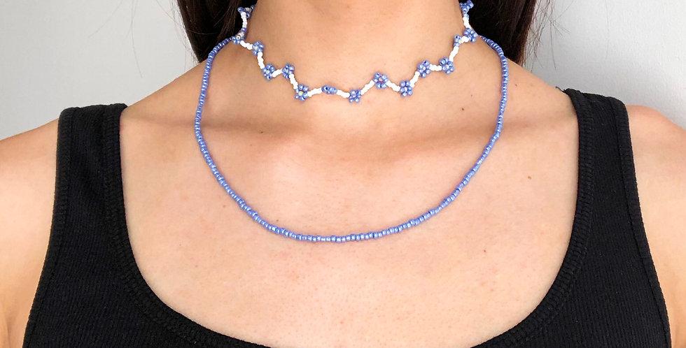 LILAC FLOWER nyaklánc+ gyűrűk
