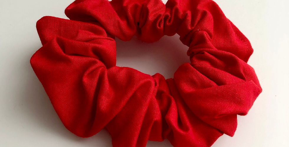 RED scrunchie