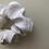 Thumbnail: WHITE scrunchie mini