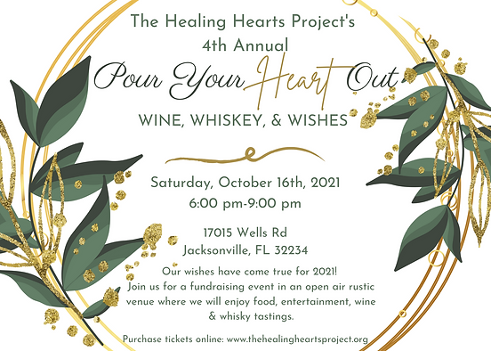 The Healing Hearts Project's 4th Annual.