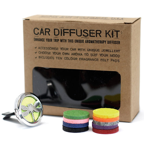 Aromatherapy car diffuser kit - dragonfly
