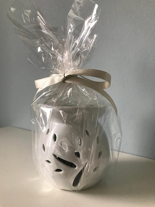 Oil burner/essential oil gift set