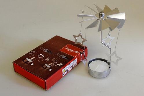 Moving shadows tealight holder - stars