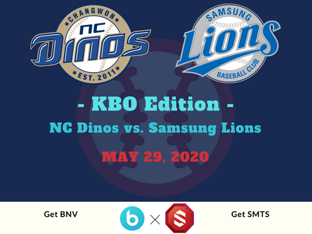 Who will win the game on May 29th at KBO? (NC Dinos vs. Samsung Lions) *Finished *Reward Completed
