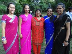 My mum & sisters