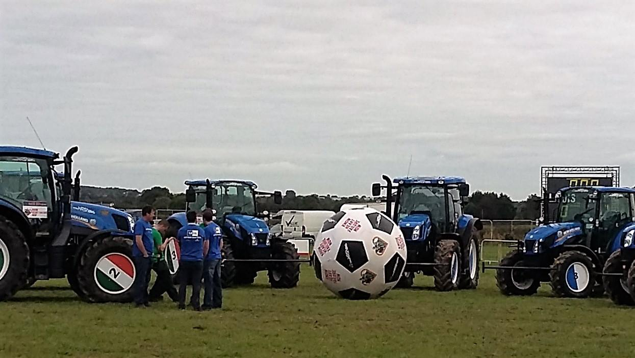 Tractor Footy (Ploughing Championshi
