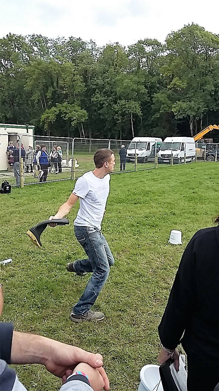 Welly Throwing (Offaly)