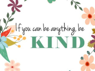 A little Kindness is the best gift ...