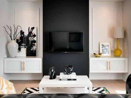 Conheça as tendências de paredes escuras para sua casa