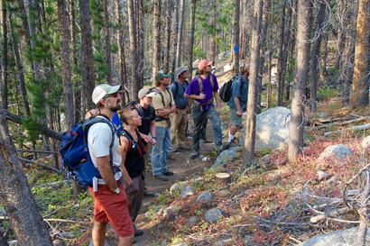 Montana Western professor opts outside for geology course