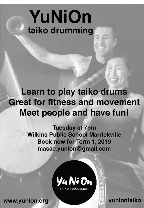 COMMUNITY TAIKO SESSION
