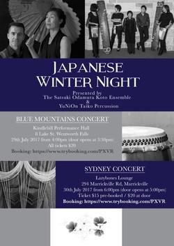 JAPANESE WINTER NIGHT