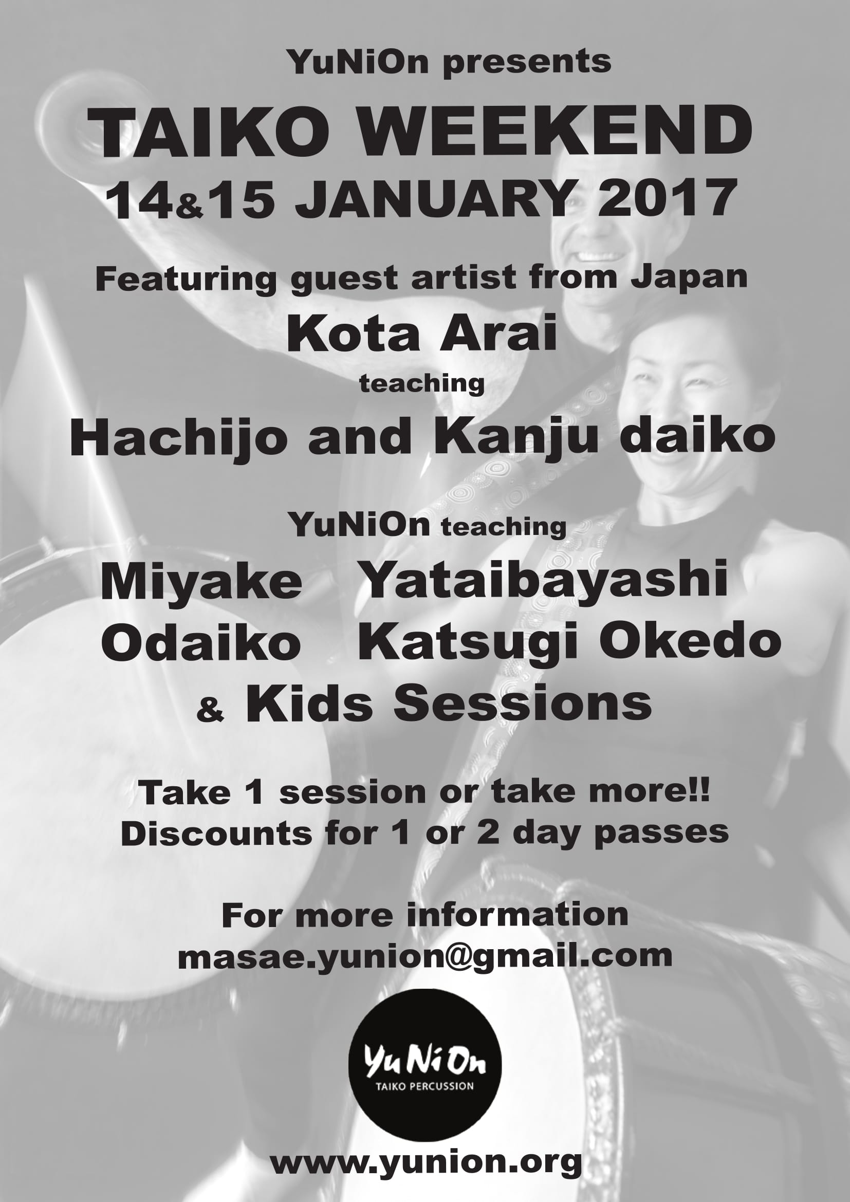 Taiko Weekend