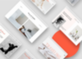 Examples of free, designer-made website templates
