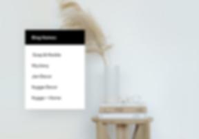Home decor website with blog name ideas.