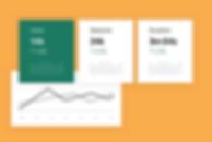 Google Analytics tool showing marketing insights.