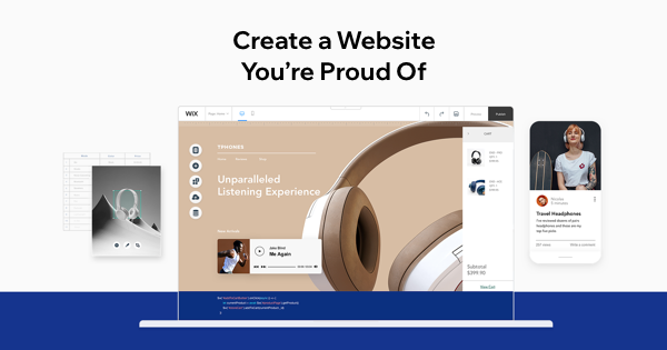 create my own website for free