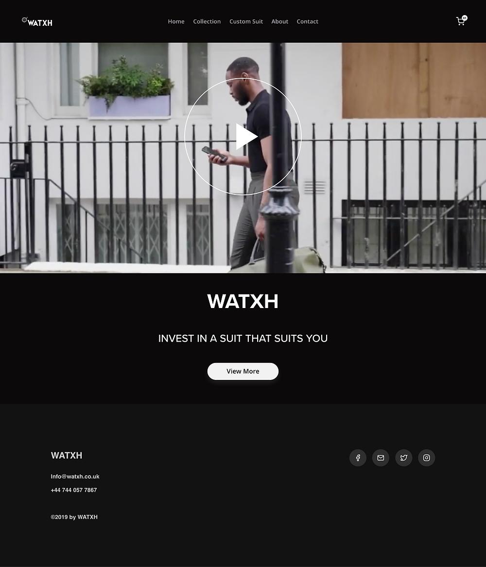 WATXH Landing page