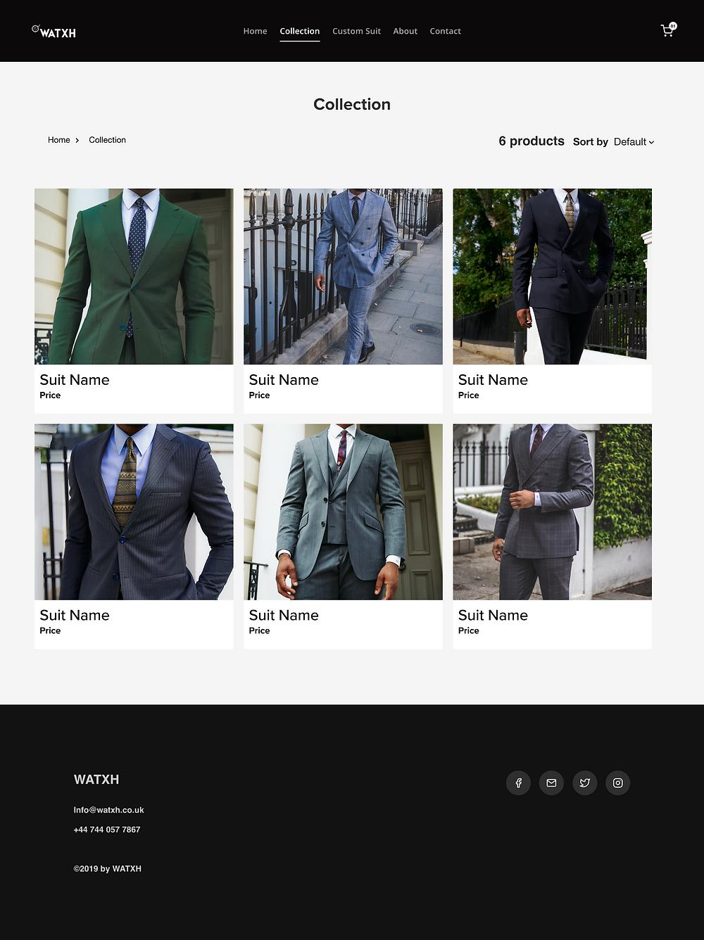 WATXH Collection Page