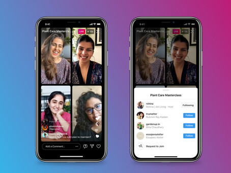 Another Clubhouse Competitor: Instagram's Live Rooms roll out