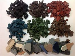 Different Colors of Rubber Mulch