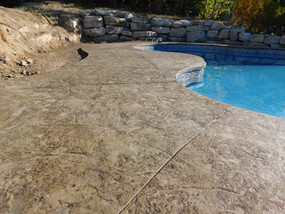 Ready Mix Concrete Pool Pad