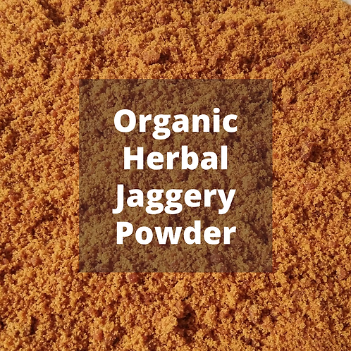 Organic Herbal Jaggery