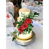 Red Floral Wedding