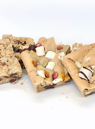 Mixed Cookie Bars