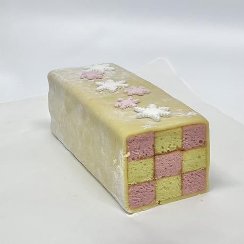 Large Battenberg Cake