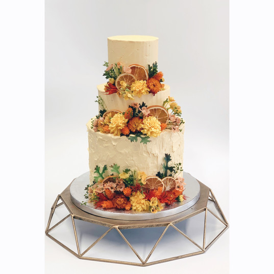 Yellow Tiered
