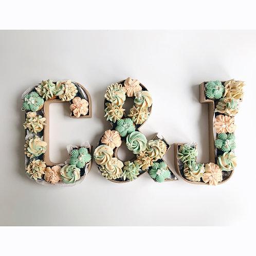 Mini Cupcakes Monogram