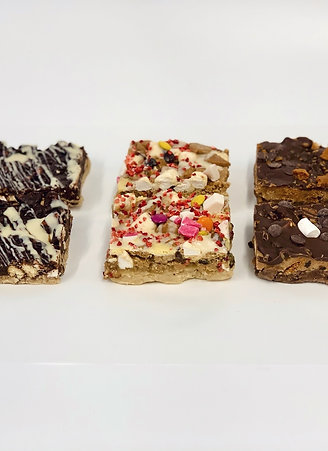 Mixed Cookie Dough Slabs