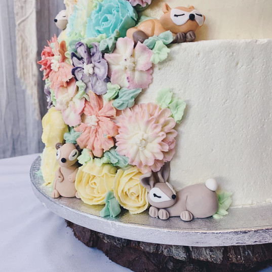 Woodland Wedding Detail