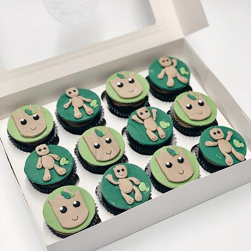 Custom Topped Cupcakes