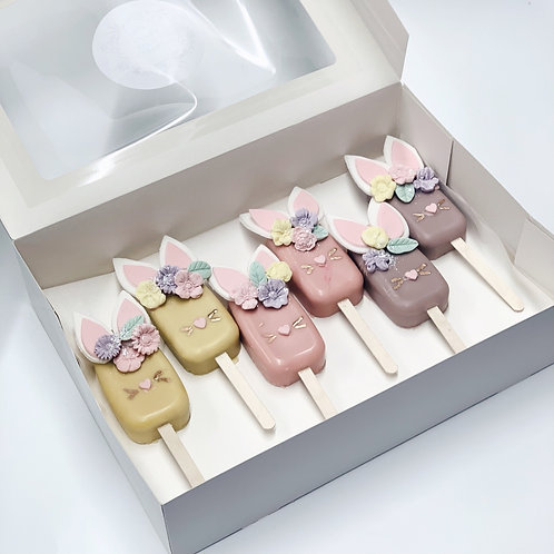 Easter Bunny Cakesicles