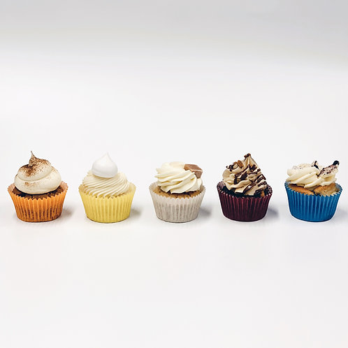 White Chocolate & Raspberry 'Spiders Web' Cupcakes