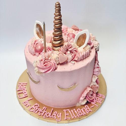 Animal Face cake!