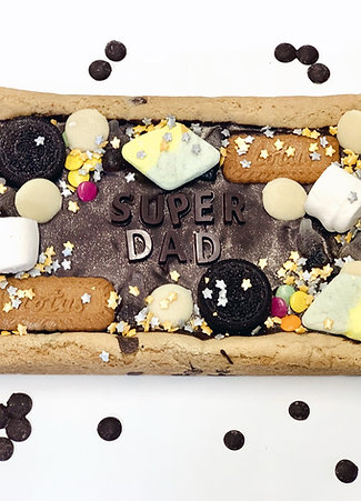Fathers Day Loaded Cookie Slab