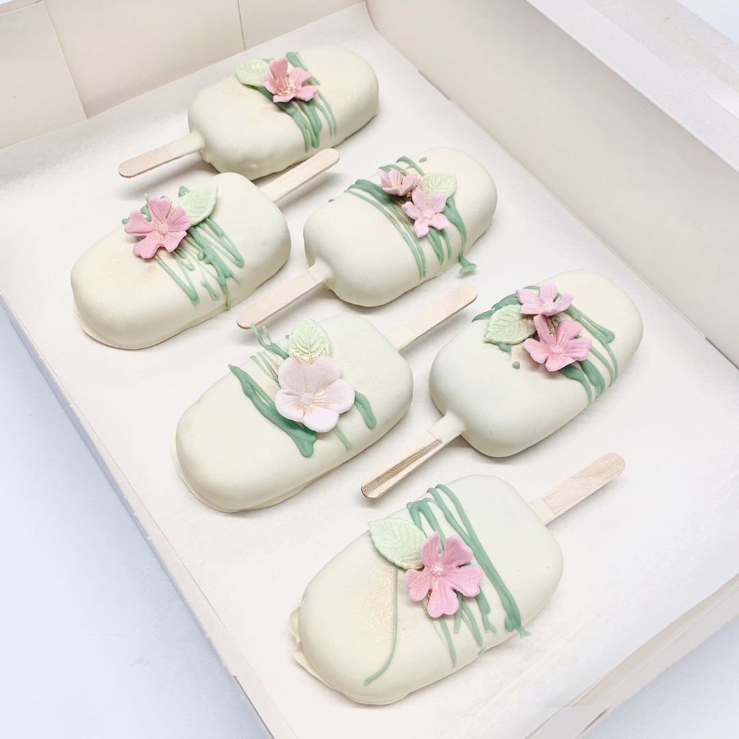 Floral Cakesicles